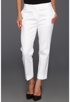 croped white pants